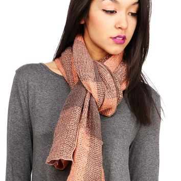 Check Stitch Scarf
