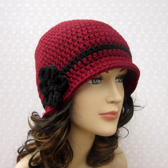 Crochet Hat Free Pattern Woman : Women s Crochet Hat Patterns