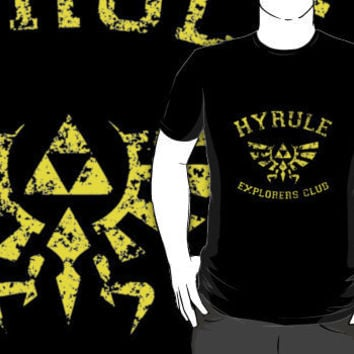 Hyrule Explorers Club Dark T-Shirts & Hoodies