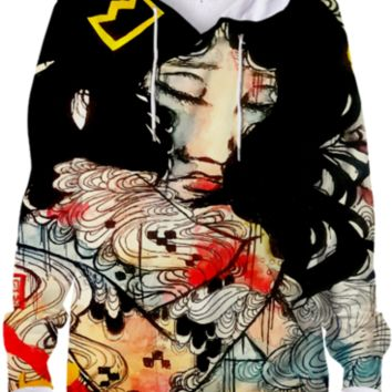 Of The Angels Hoodie created by artofprincessm | Print All Over Me