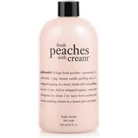 lotion- peaches and cream