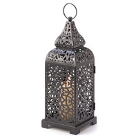 Moroccan Tower Candle Lantern - Moroccan Tower Candle Lantern