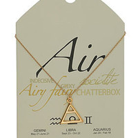 Air Symbol Necklace