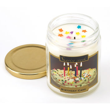Birthday Cake Scent Candle - Birthday Cake Scent Candle