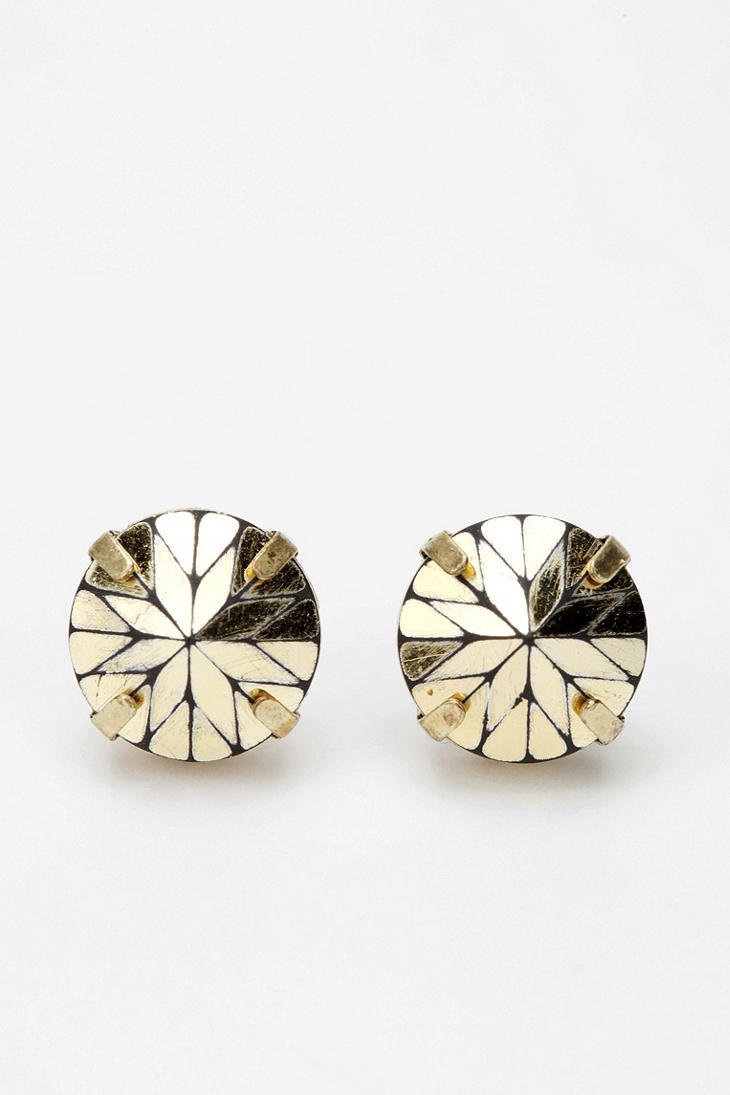 Prismatic Post Earring