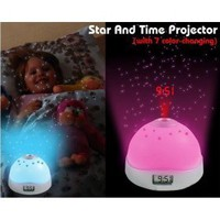 buy cheap 7 Color Changing Star and Time LED PROJECTOR wholesale on China Gadget Land