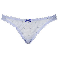 Low Rise Mini Knickers - Lavender