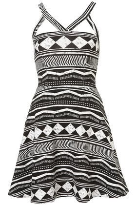 Aztec Strappy Flippy Tunic - Dresses  - Apparel