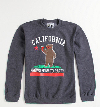 Cali Knows How To Party Crew Fleece