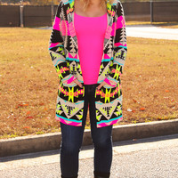 The Brighter Side Of Things Cardigan: Multi