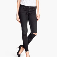 Ankle-length Jeans Skinny fit - from H&M