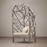 Driftwood Upholstered Chair