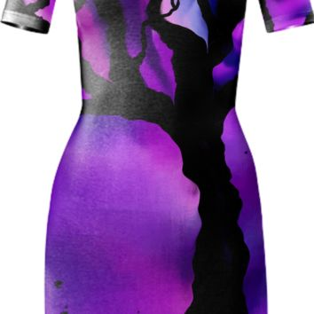 Lady of the Trees Bodycon Dress created by Artful Sprinkles | Print All Over Me