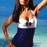Swimwear 2011 | Hidden Underwire Swimsuit | One Piece Bathing Suit
