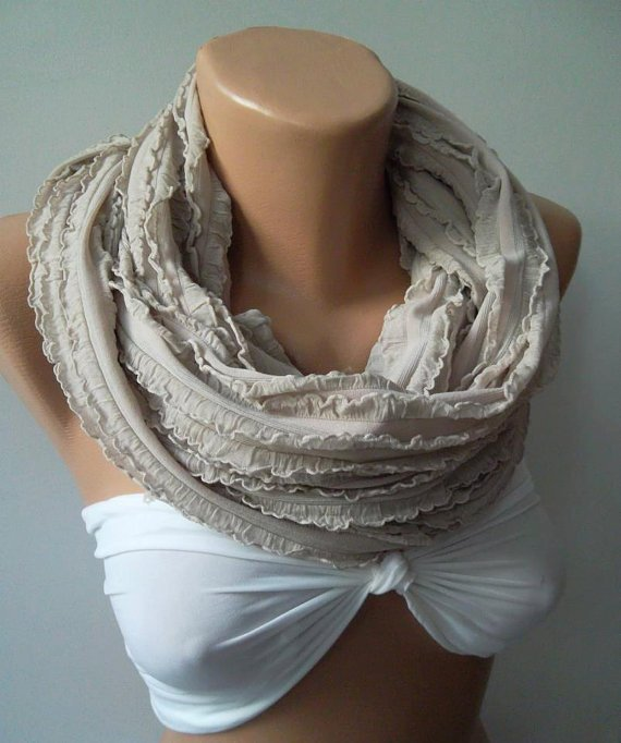 Tube scarf  Infinity Scarf Loop Scarf Circle Scarf - Elegant - It made with good quality  fabric