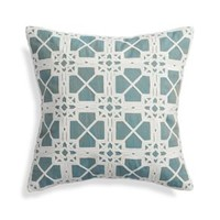 "Lansbury 20"" Pillow with Feather Insert"