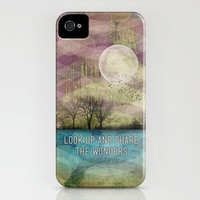 Look Up and Share the Wonders iPhone Case by Susan Weller | Society6