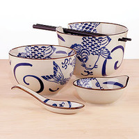 Koi Asian Dinnerware Collection