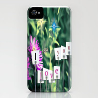 Baby bee love iPhone Case by Laura Santeler | Society6