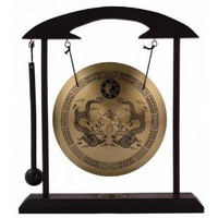 Amazon.com: Zen Art Brass Feng Shui Desktop Gong: Home & Garden