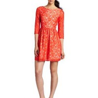 French Connection Women's Lizzy Lace Dress: Amazon.com: Clothing