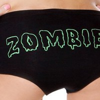 Amazon.com: Folter 'ZOMBIE' HOT SHORTS: Clothing