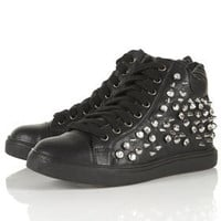 AGGRAVATED Studded Hi Tops