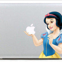 Color Snow White Mac Book Mac Book Air Mac Book Pro Mac Sticker Mac Decal Apple Decal Mac Decals