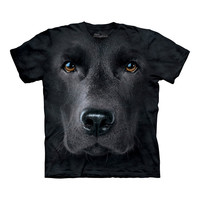 Big Face Labrador T-Shirt