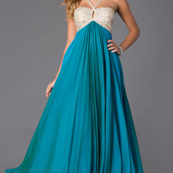 Long Sweetheart Formal Gown by Alyce