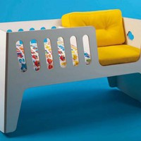 Fun and Modern Rocky Modular Cradle by Jäll & Tofta