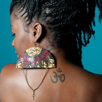 AfroBeat Ankh Earrings by sankofaschild on Etsy