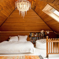 Attic designed by Jessica Helgersen