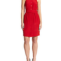 Moschino - Silk Halter Shirtdress - Saks Fifth Avenue Mobile