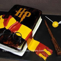 Coolest Harry Potter Book Cake 9