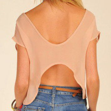 Tanny's Couture — U Back Top