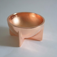 Fort Standard Copper Standing Bowl