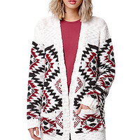LA Hearts Oversized Chunky Pocket Cardigan at PacSun.com