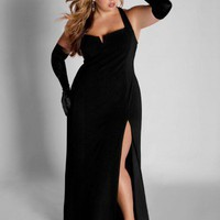 Ferrera Plus Size Gown by IGIGI