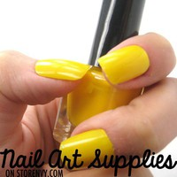 Yellow Sunshine - Bright Yellow Nail Polish Mini Teaser Size 5ml from nailartsupplies