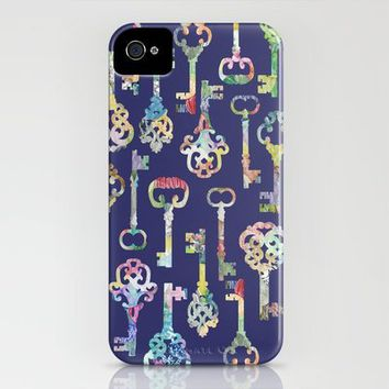 Rainbow Keys iPhone Case by ElephantTrunkStudio | Society6