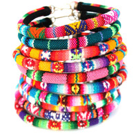 Rainbow Peruvian Bracelet