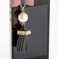 Cara Accessories &#x27;Tassel&#x27; Smart Phone Charm | Nordstrom