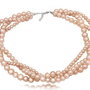 RZ Jewelry Shop - Twisted Pearls Necklace