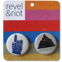 Equality Button Pack : Revel & Riot LGBTQ merchandise and gay rights graphic t-shirts | Revel & Riot