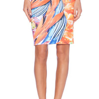 Birds of a Feather Skirt in Multi