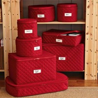 Quilted China Storage Cases