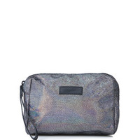 Shimmer Make-Up Bag - Silver