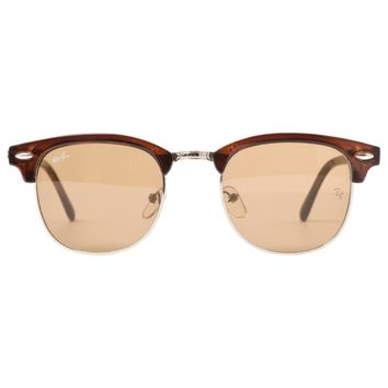 Brown clubmaster sunglasses RAY-BAN Brown