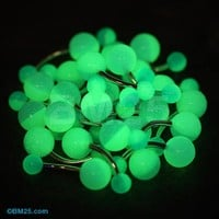 Two Toned Glow in the Dark Acrylic Belly Button Ring